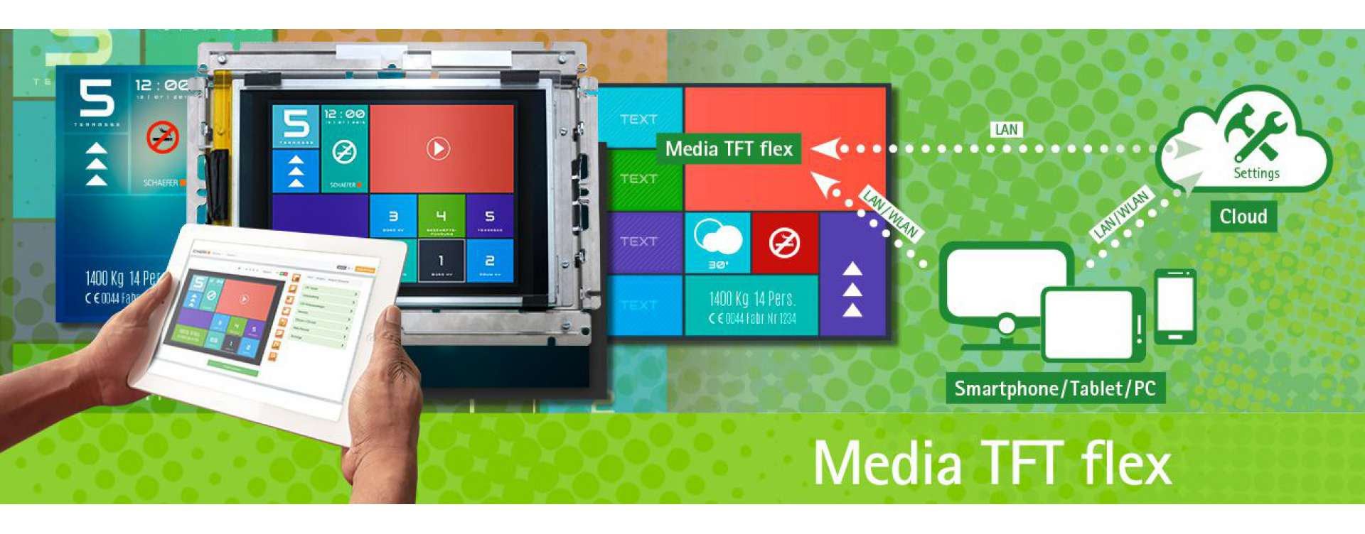(Touch) Media TFT flex