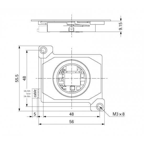 AQ 37 HP - Acoustic acknowledgement