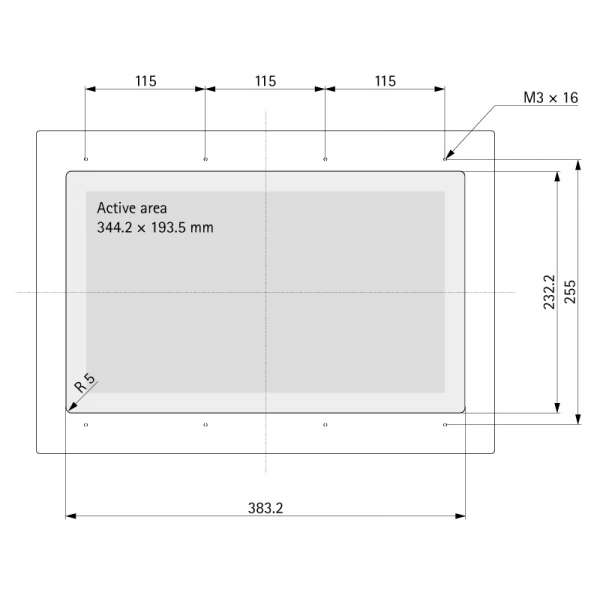 "15.6"" (Touch) Media TFT Flex V2.0"