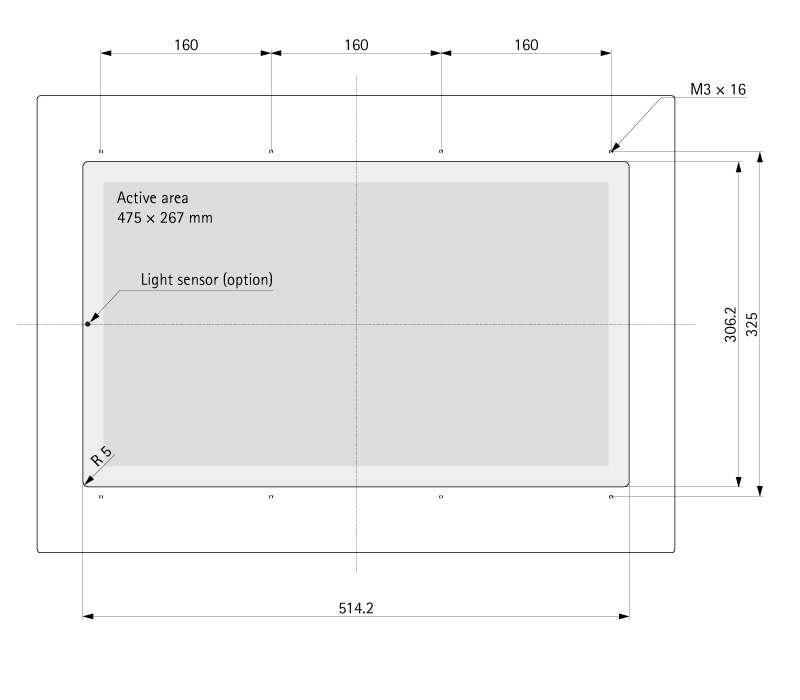 "21.5"" (Touch) Media TFT Flex V2.0"