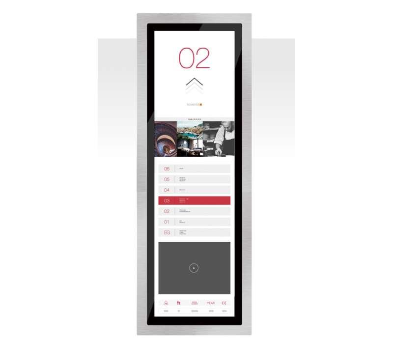 "38"" Panorama (Touch) Media TFT Flex V2.0"