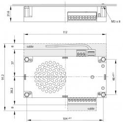 EA-LMK70B (Loudspeaker-Microphone Combination)