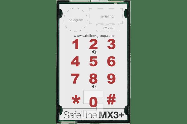 SafeLine Kabinensprechstelle MX3 mit 2m Kabel