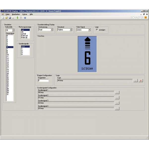 LCD 240-2XX Config Kit