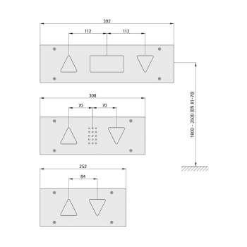 Anzeigetableau 110 (Aluminiumprofil-Kasten)