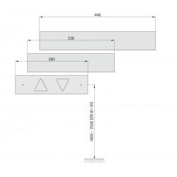 Indicator fixture 72 (quick-action fastener)