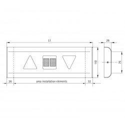 Indicator fixture 110 Radius