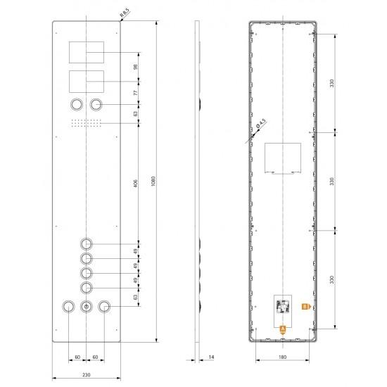 Aurora BASIC COP 230 4E-R, IF COB