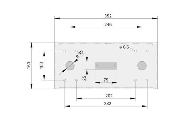 Pulttableau SIMPLE 352