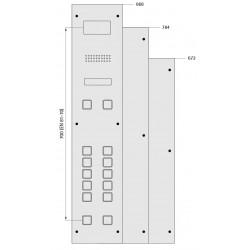 Car Fixture 185 (aluminium profile back box)