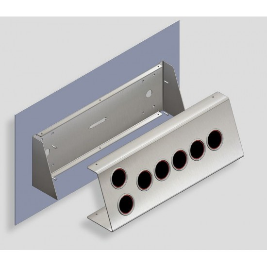 Desk-shaped fixture SIMPLE 480