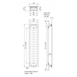 Car Fixture 110 (aluminum profile back box)