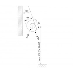 Handrail tube-shaped fixture