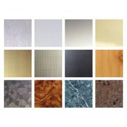 Faceplate materials