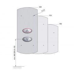 Landing fixture 135 EPSILON (quick-action fastener)