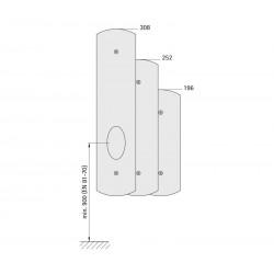 Landing fixture 72 EPSILON (sheet metal frame)