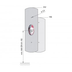 Landing fixture 72 EPSILON (quick-action fastener)