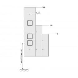 Landing fixture 72 (quick-action fastener)