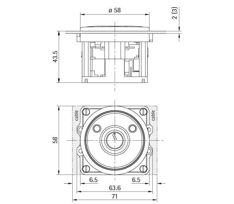 K 50 R Profilhalbzylinder