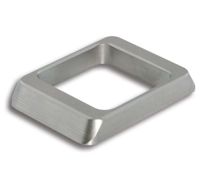 Rosette Style 28 square (Metall)