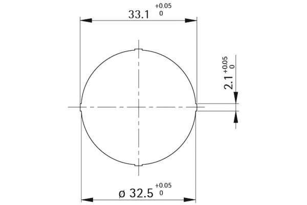 Unterlage Style 42 round (Kunststoff)