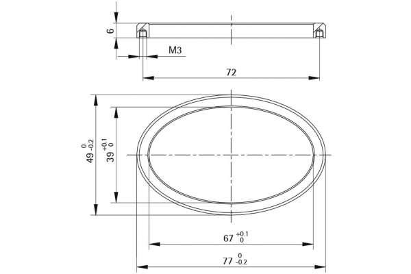 Rosette Style 42 EPSILON (Metall)