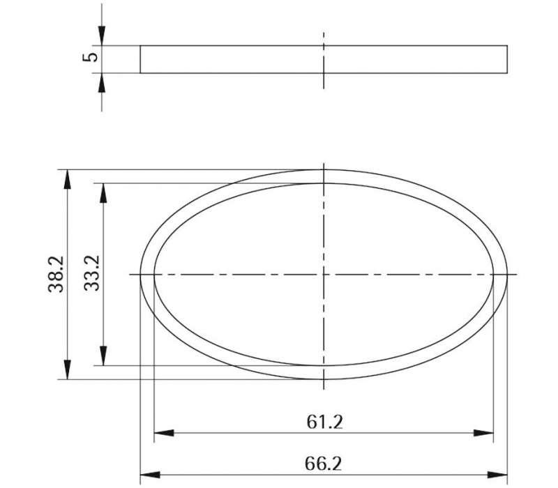 Unterlage Style 42 EPSILON (Kunststoff)