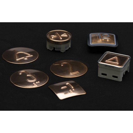 Copper touch plates